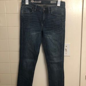 Madewell jeans 24x32